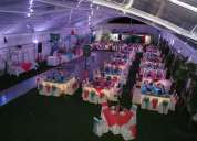Realizamos todo tipo de evento  matrimonios cumpleaños etc.........