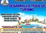 Desarrollo de tesis de turismo tesinas tesis de administracion monografias tesis de derecho
