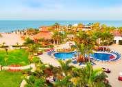 Vacaciones en económico resort todo incluido