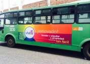 Publicidad movil en buses