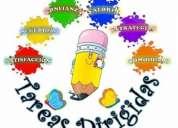 Tareas dirigidas y nivelación escolar