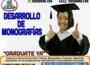 Monografias y tesis de grado