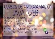 Curso de programación java básico - avanzado - web