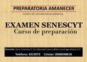 Examen senescyt curso de preparaciÓn