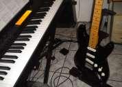 Cursos de guitarra , piano y bajo electrico