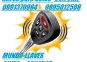 Mundo-llaves (copias de llaves para autos ) 0995012586