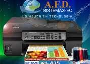 Epson workforce 435 con wifi sistema de tinta continua
