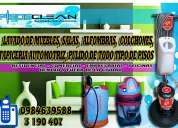 Limpieza de alfombras y desinfeccion