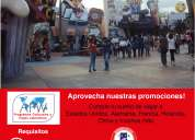 Programa internacional para trabajar y estudiar en el exterior