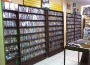 Remato negocio de venta de dvd en 2.200