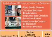 $80 curso de instalaciones elÉctricas y cocinas de inducciÓn