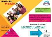 Oportunidad de aprender inglés con challenger english academy