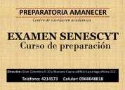 Preparación para el examen de la senescyt