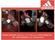 Adidas kanadia talla 8 1/2 0 41 con etiquetas