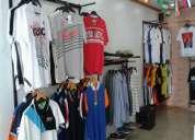 local comercial ropa de hombre y carteras de mujer buena ubicación bahía