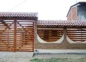 Villa de alquiler en san jacinto manabí