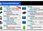 Laptop core i7 950 dolares