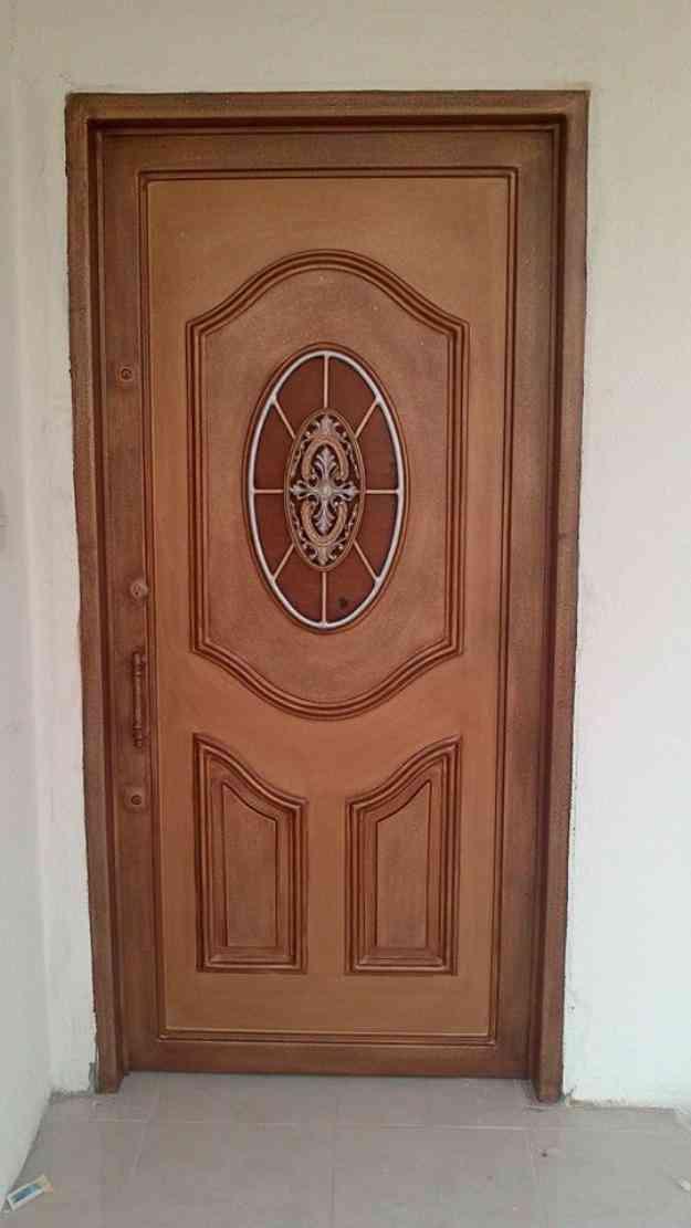 Puertas metalicas exterior stunning puertas cortafuego for Puertas metalicas exterior