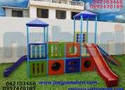 Juegos infantiles toboganes