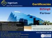 Curso, certificación busing partner, domótica, inmótica, ecuador