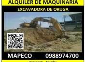 alquiler de maquinaria para la construcción y demolición