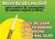Gel insecticida profesional.!!