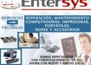 Mantenimiento y reparacion de computadoras, asistencia técnica. entersys guayaquil