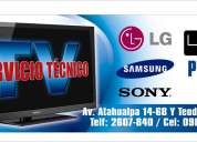 Reparacion de tv lcd led plasma camaras digitales
