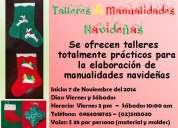 Cursos / talleres de manualidades navideñas
