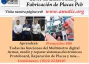 Curso de electrónica básica y fabricación de placas pcb
