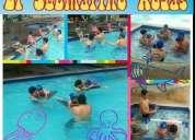 Clases de natación bebés, niños, jóvenes y adultos