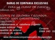 Damitas  de  compania lindas colombianas  y  ecuatorianas 0984 240 950