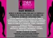 Promotoras impulsadoras d&h models