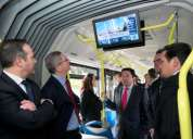 Publicidad en buses con pantallas lcd