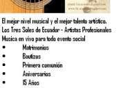 >trio los 3 soles de ecuador - musicos de quito