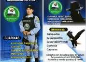 Empresa de seguridad privada y vigilancia para locales comerciales