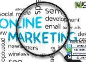 Marketing online páginas web , servicio seo, emarketing