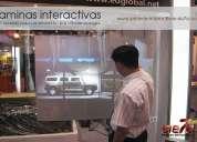 Laminas interactivas touch desde 380usd