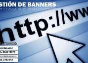 Gestión de banners en su sitio web