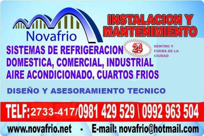 REPARACION DE CUARTOS FRIOS Y AIRES ACONDICIONADOS, Quito ...