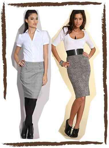 Blusas y Faldas Formales