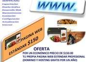 Diseño pagina web profesional