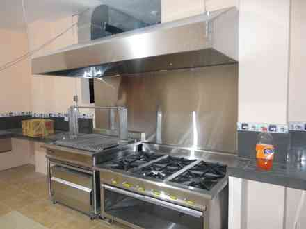 Campana industrial para cocina campana para cocina for Cocina industrial segunda mano