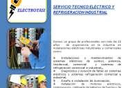 Servicio tecnico electricista y refrigeracion aires acondicionados