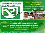 Cursos de preparación examen nacional para la educación superior enes! ineval y exonera