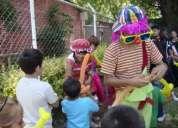 Fiestas infantiles. animaciÓn. shows. payasitos. horas locas