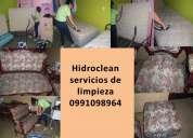 Limpiezas de muebles colchones y mas a domicilio hidroclean 0991098964