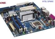 Motherboard intel dp965 + procesador+ memoria ram