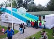 Alquiler temporal de inflables zorb ball/fiestas infantiles - quito-planeamiento de eventos-orbitron