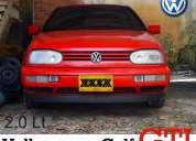 Volkswagen golf gti 2.0 color rojo año 1994